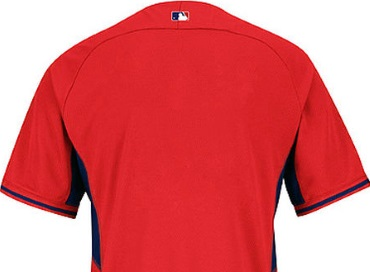 f6bb60a771c Boston Red Sox Authentic Cool Base BP Performance Baseball Jersey-Back View