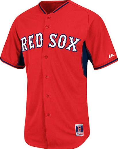 bd1a74a49 Boston Red Sox Authentic Cool Base BP Performance Baseball Jersey