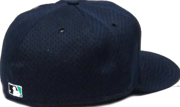 96e5ffbf510 Seattle Mariners Logo 59FIFTY Mesh Batting Practice Fitted Hat