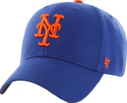 5e8d24101c827 ... New York Mets Home Royal Blue  47 Brand MVP Wool Adjustable Hat