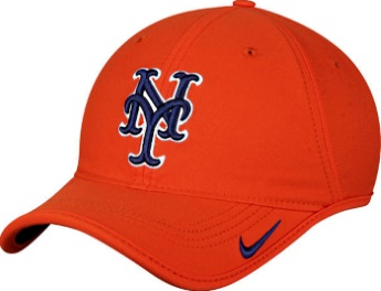 dc9336b6a2e22 New York Mets Orange Nike Dri-Fit Aero Relaxed Adjustable Hat