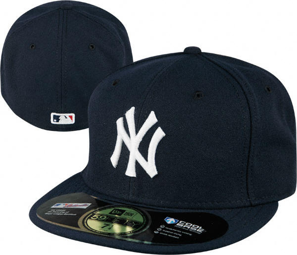 New York Yankees Navy Ne Authentic On Field 59fifty Fitted Hat