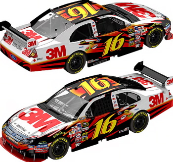 Racing In Car >> Greg Biffle #16 3M 2010 Fusion 1:64 Die Cast Car