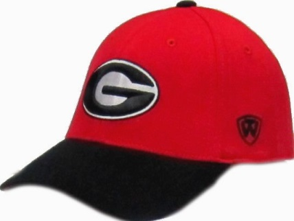 bafd21e86f7 ... Georgia Bulldogs G Logo Top of the World UGA Receiver One Fit Hat