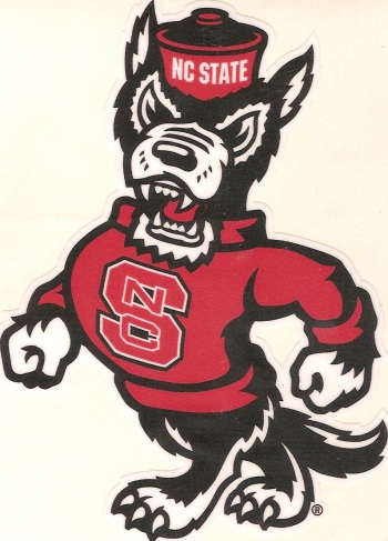 Nc State Wolfpack Tuffy Mascot Precision Cut Vinyl Decal 5