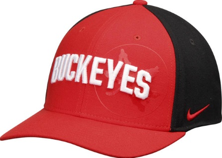 more photos 37bde 39547 ... where can i buy ohio state buckeyes nike dri fit aerobill mesh swoosh  flex hat back