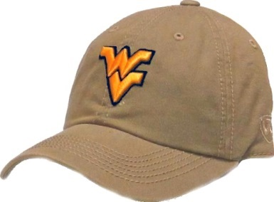 1b7f7f6c3 West Virginia Mountaineers Hats, Visors, WVU Caps, WV Gifts Shop