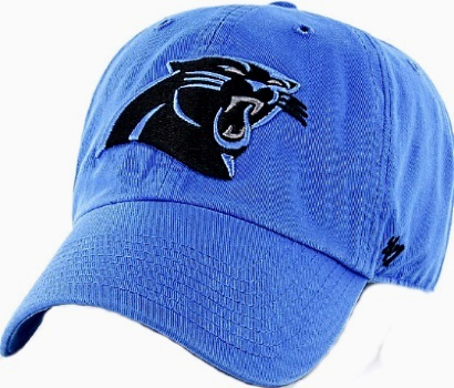 777ff61a0ee ... Carolina Panthers Blue  47 Brand Cleanup Relaxed Adjustable Hat