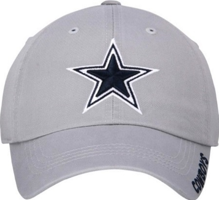 Dallas Cowboys Star Logo Silver Relaxed Slouch Adjustable Hat 5d6545af2