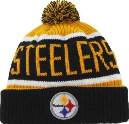 ce4d1f7d32283f Pittsburgh Steelers '47 Brand Breakaway Beanie Pom Knit Skull Hat · Pittsburgh  Steelers '47 Brand Calgary Pom Cuffed Beanie Knit Hat